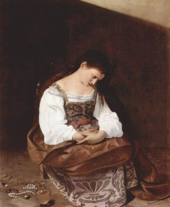 Caravaggio - Pokutująca Magdalena