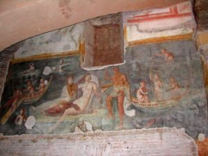 Domy antyczne pod bazyliką świętych Jana i Pawła