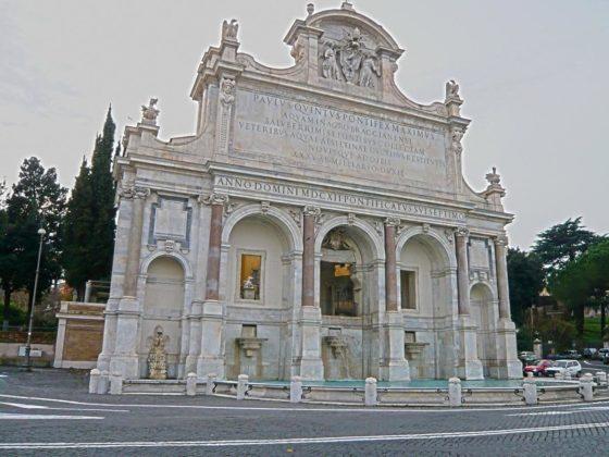 Rzym - Fontanna Paolina