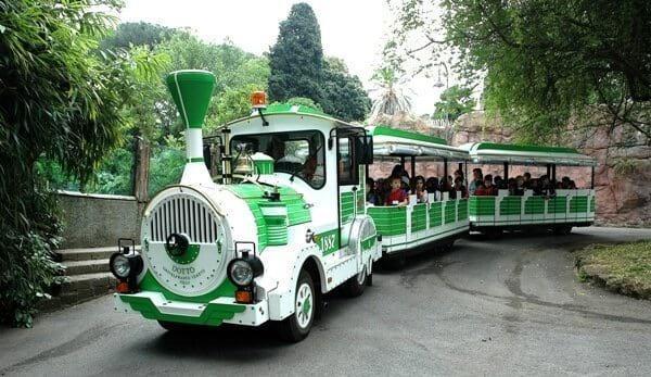 ZOO w Rzymie - pociąg dla dzieci